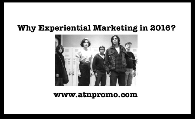 Experiential marketing 2016