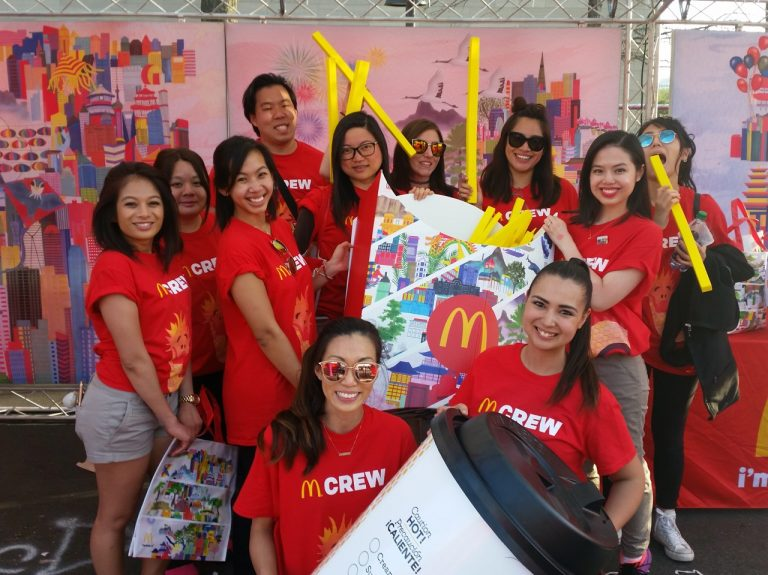 McDonald's Family Pavilion DC Brand Ambassadors