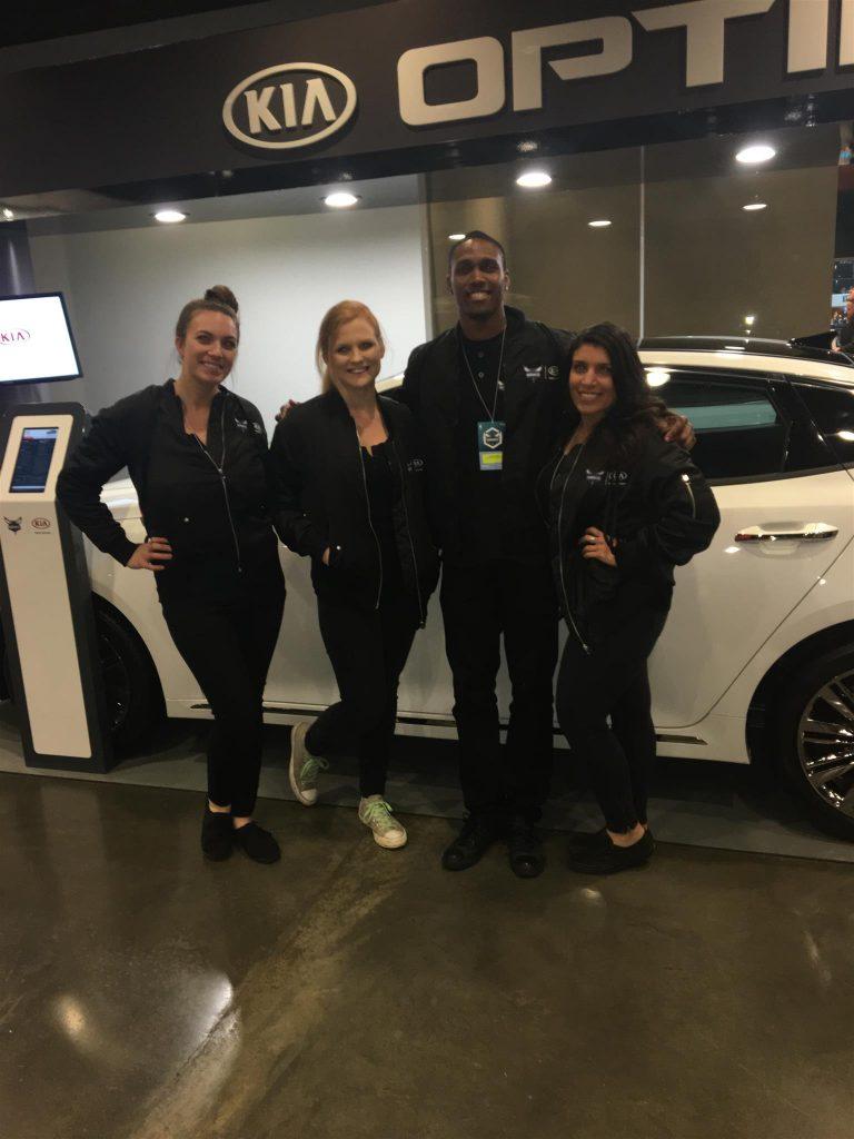 auto show staff