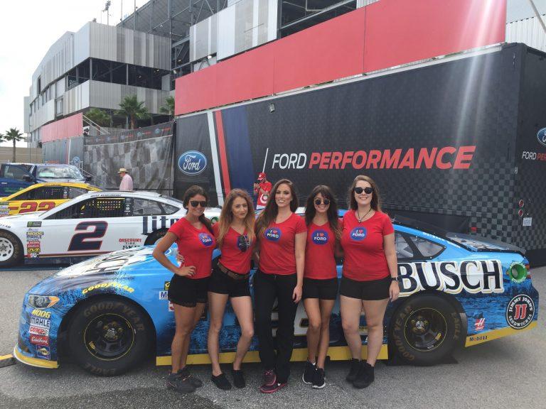 NASCAR event marketing