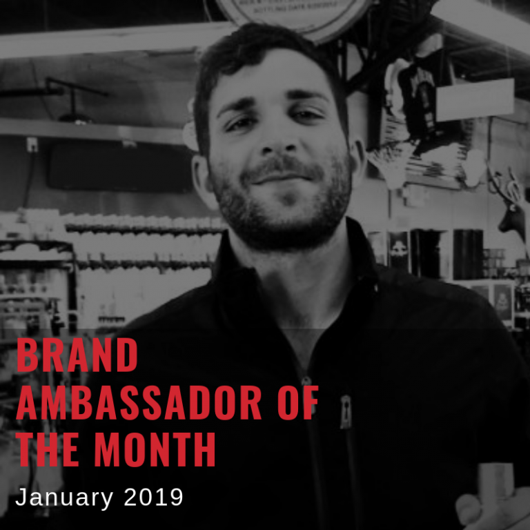 brand ambassador of the month january 2019