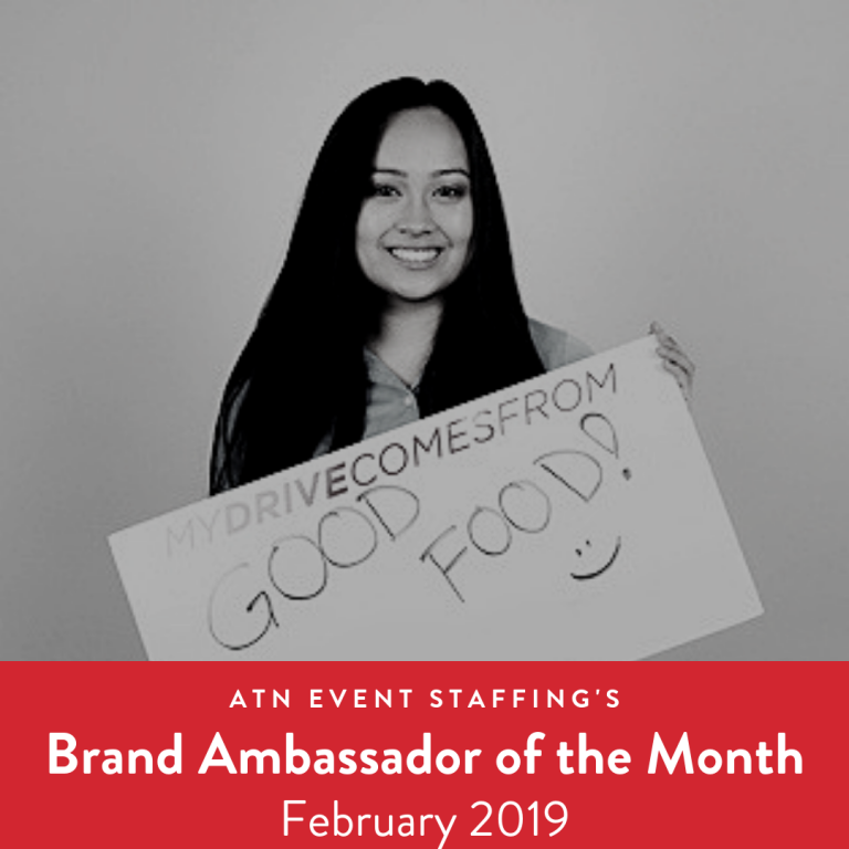 ATN Event Staffing Brand Ambassador of the Month February 2019
