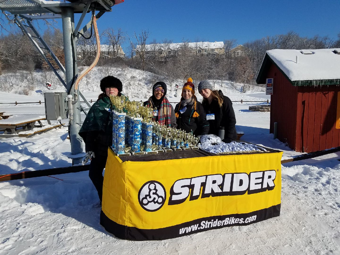 Event Staffing Minnesota: Strider Snow Cup