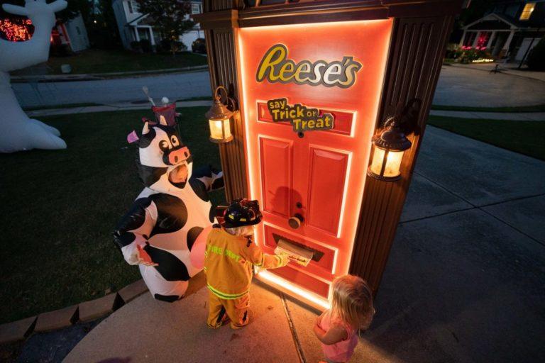 Halloween brand activations