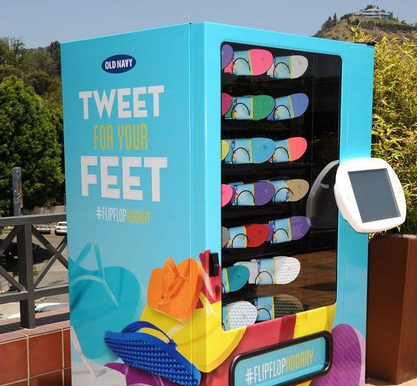 guerrilla marketing ideas vending machines