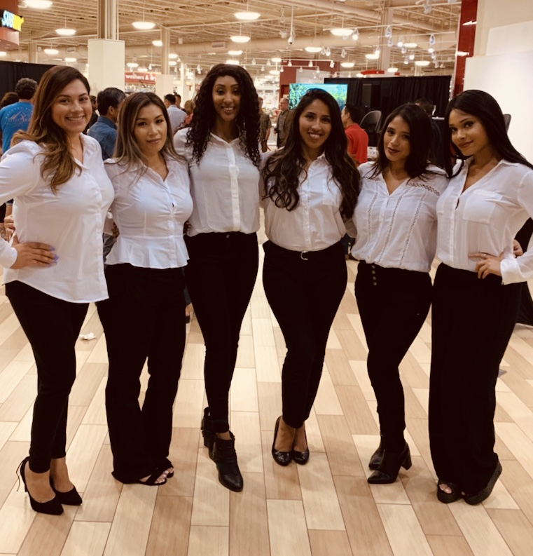 trade show staffing agency