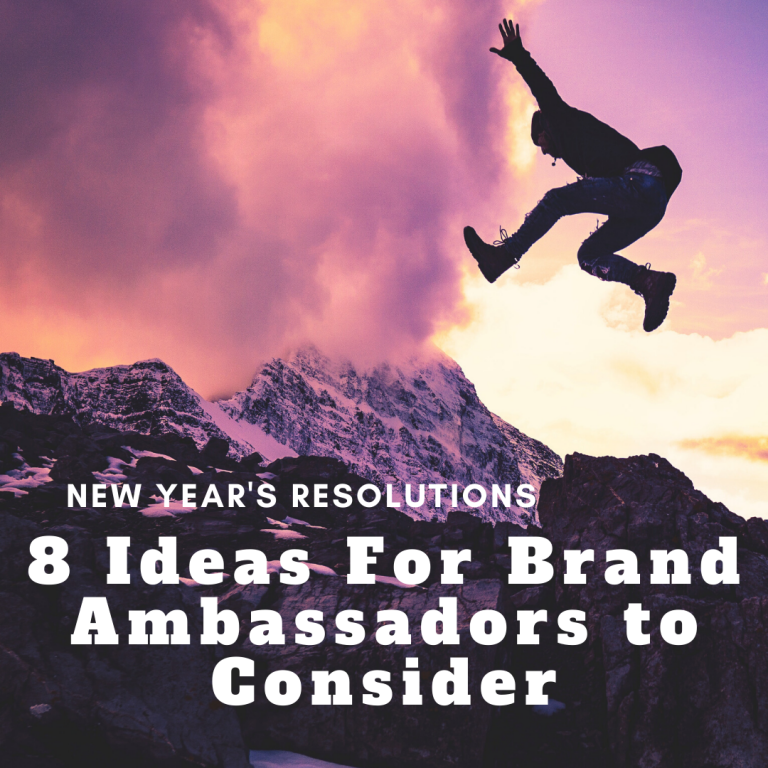 brand ambassador resolutions
