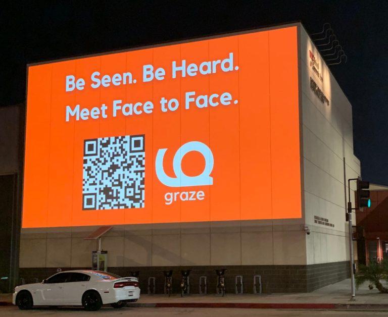 street media guerrilla projection inquiries