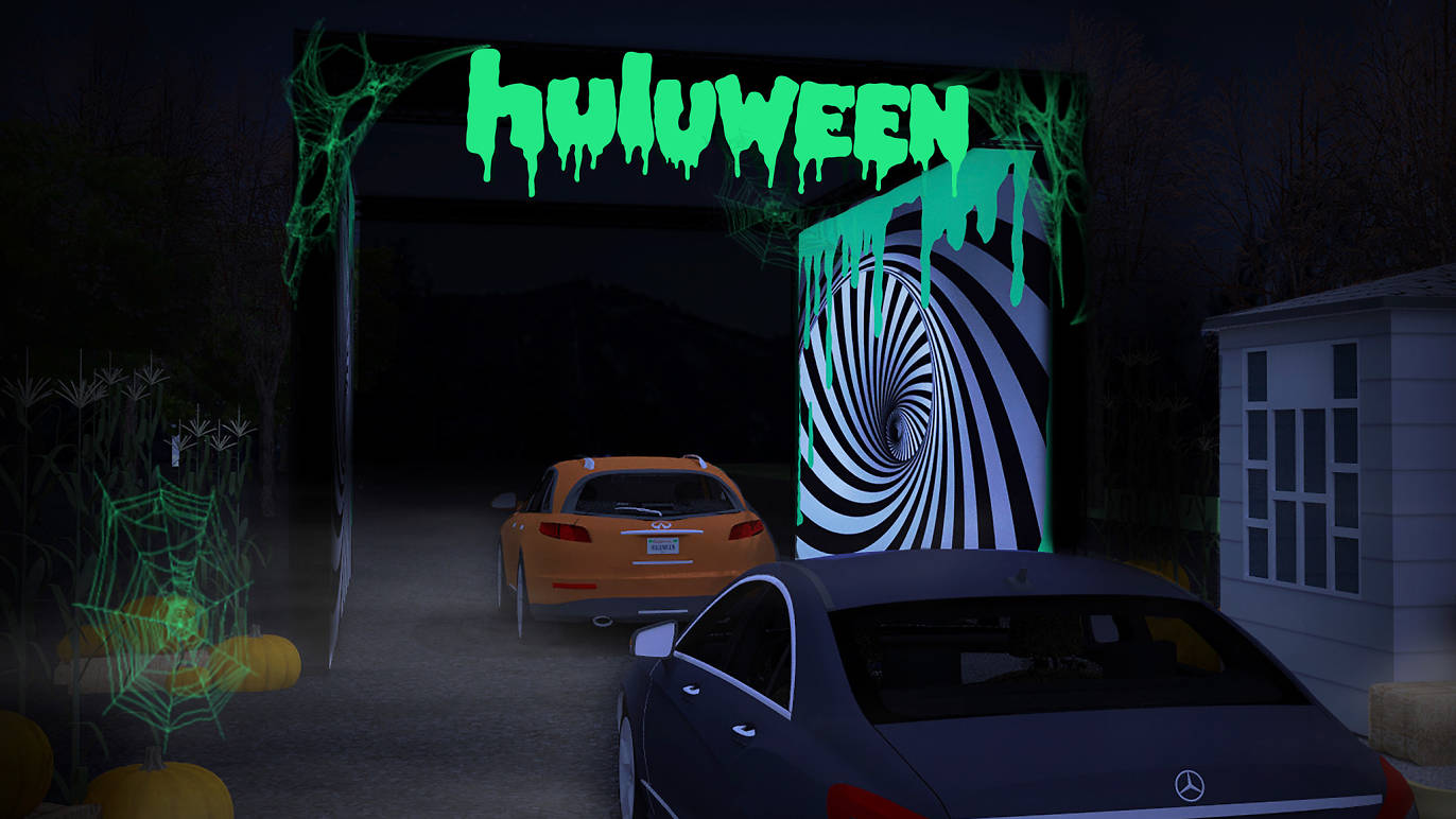 Huluween Drive-In Experience