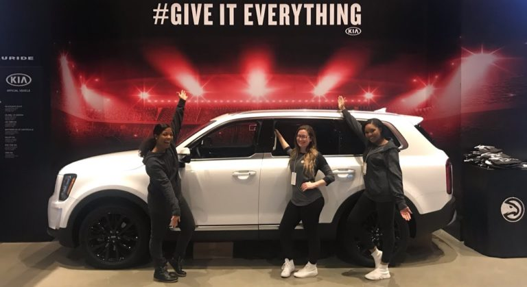Experiential Marketing Staffing for KIA NBA