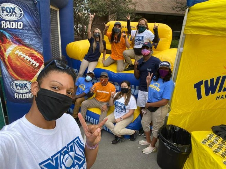 Experiential Marketing Staffing Agency for College Tailgate Tour