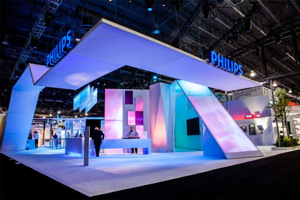 inspiring exhibit designs to boost trade show success