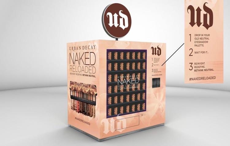 experiential vending machine